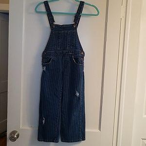 Zara denim girl overalls